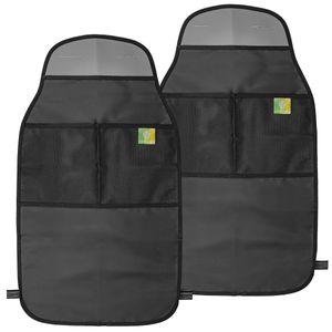 Premium Rückenlehnenschutz (2 Stück) für Autositz, Wasserdichte Rücksitzschoner für Ihr Auto. Sitzschoner in universeller Passform!