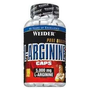 Weider L-Arginine 100 Kapseln (0,19 € pro 1 Kapseln)