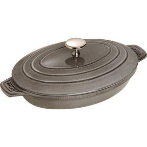 Staub Hot plate, 230 mm, 170 mm, 2.3 kg