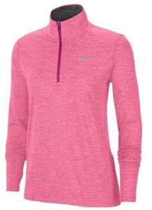 Nike NIKE ELEMENT WOMEN'S 1/2-ZIP R,FIR FIREBERRY/SUNSET PULSE/REFLECT FIREBERRY/SUNSET PULSE/REFLECT S
