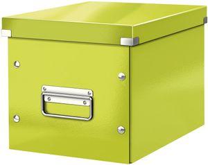 LEITZ Ablagebox Click & Store WOW Cube M grün