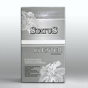 STATUS PROFI Kleister Kleber Tapetenkleister für alle Vliestapeten und überstreichbare Vliesbeläge 250 g für max. 40 qm / 7 Rollen