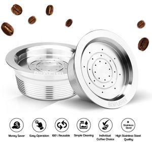 Wiederverwendbare Kaffeekapseln aus Edelstahl Wiederverwendbarer Kaffeekapsel-Tassenfilter Kompatibel mit LAVAZZA A MODO MIO JOLIE LAVAZZA A MODO MIO ESPRIA