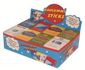 Kaugummi Sticks mit Rauch Effekt 24 Packungen