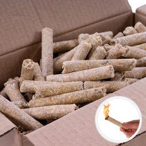 5kg Anzünder Kaminanzünder Holzwolle Grillanzünder Feueranzünder Presslinge