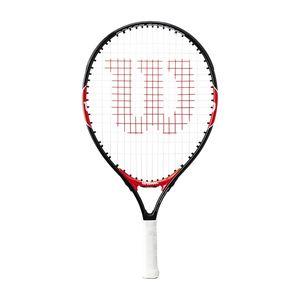 Wilson Roger Federer 19´´ (besaitet) Tennisschläger Rot - Kinder (ABA), Größe:00000 (Griffstärke)