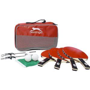 9 Tlg. Tischtennis Set Tischtennisschläger mit Netz, Schläger und Bällen