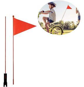 Sicherheitswimpel Teilbar  Fahne Kinderfahrrad Kinder Fahrradwimpel Wimpel- Mädchen Sicherheitswimpel Prinzessinnen (Fahrradfahne)
