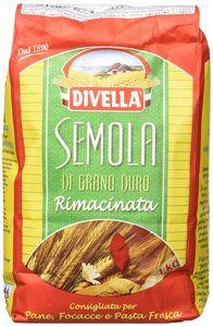 Divella Hartweizengrieß Semola di Grano duro Rimacinata 6er Pack