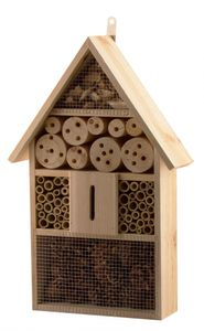 Insektenhotel XXL 48cm groß aus Holz