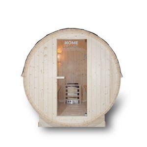 HOME DELUXE - Outdoor Fasssauna inkl. Saunaofen LAHTI L Gartensauna Sauna