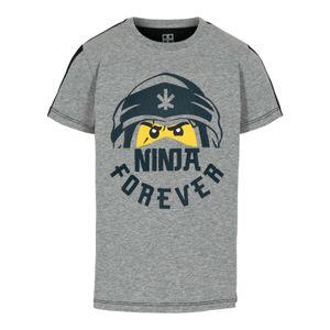 LEGO® Wear NINJAGO® Jungen T-Shirt , Größe:104, Präzise Farbe:Grau