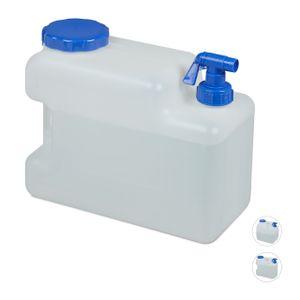 relaxdays Wasserkanister mit Hahn