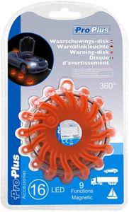 ProPlus 540322 Notfall Warnblinkleuchte mit Magnet und 16LEDs