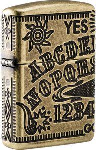 ZIPPO Feuerzeug Antik Armor Case Ouija Board
