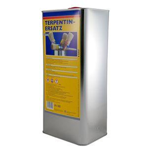 6 Liter Terpentinersatz, Terpentin Ersatz hochwertiges, langsamflüchtiges Reinigungs- und Verdünnungsmittel.