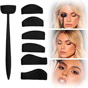 7 Stücke Augen Make-up Vorlage Lidschatten Schablone für Perfektes Smokey-Eye-Make-up und Cat-Eye-Make-up
