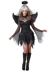 Gefallener Engel Kostüm, Größe:L
