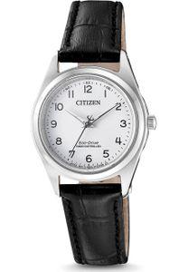 Citizen ES4030-17A Funkuhr Eco Drive Uhr Damenuhr Schwarz