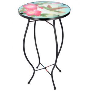 Arti Casa mosaik-Tisch Vogel mehrfarbig 30x30x54 cm