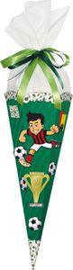 Nestler Fußball Bastelschultüte sechseckig 67cm