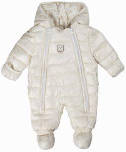 Kanz® Schneeanzug Overall Weiß Unisex, Größe:80, Präzise Farbe:Weiß