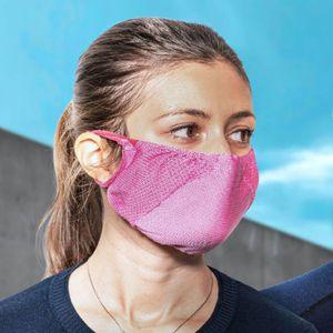 TRERE Social Mask Sportmaske Mund-Nasen-Bedeckung pink M