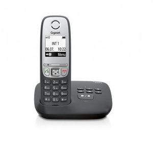 Gigaset A415A Strahlungsarmes Schnurlostelefon mit Anrufbeantworter, Rufnummernanzeige, Freisprechfunktion, DECT