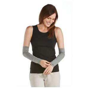 Coolibar - UV-schützende Ärmel für Damen - Navagio - Grau, M/S