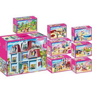 PLAYMOBIL 70205 bis 70212 Dollhouse 8er Set Komple