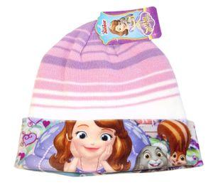 Disney Junior Sofia Mütze für Kinder, Mädchen Lila-Rosa 54