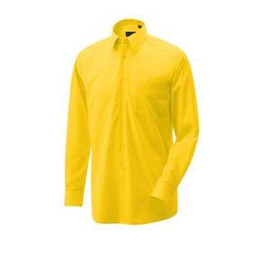 Hemd langarm Farbe gelb Größe 38