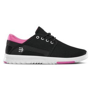 Etnies Damen Sneaker SCOUT W'S - BLACK/PINK/PINK , Größe Schuhe:6.5