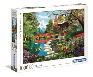 Clementoni 39513 High Quality Collection Fuji Garden, 1000 Teile Puzzl