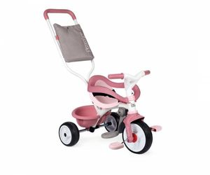 Smoby Outdoor Spielzeug Fahrzeug Dreirad Be Move Komfort rosa, pink 7600740415