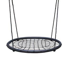 Faltbare Kinder Nestschaukel Netzschaukel 100cm Tellerschaukel Rund Schaukel