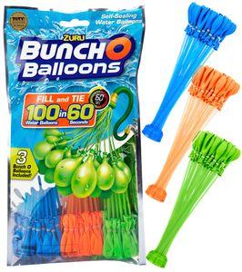 ZURU Bunch O Balloons - 105 Stück - selbstschließende Wasserbomben BOYS