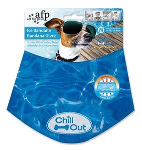 Chill Out kühlendes Halstuch Gr. M 38-46cm blau