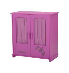 Puppenschrank, Design Diadem, pink