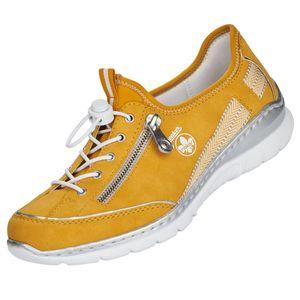 Rieker Damen Slipper Gelb, Schuhgröße:EUR 38