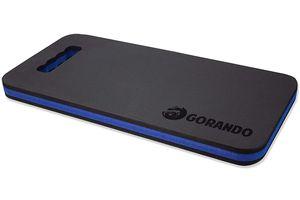 GORANDO® Premium EVA Kniekissen - blau - für Garten, Haus und Werkstatt, Kniepad