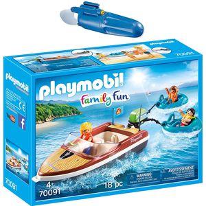 PLAYMOBIL 70091 5159 Family Fun 2er Set Sportboot