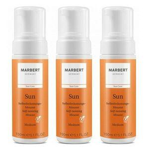 Marbert Sun Selbstbräunungsmousse Medium 3 x 150 ml