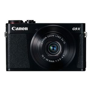 Canon PowerShot G9X Mark II, Farbe:Schwarz