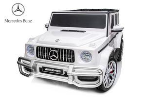 Mercedes G63 Deluxe 4 x 35W 12V 2.4G RC (Weiß)