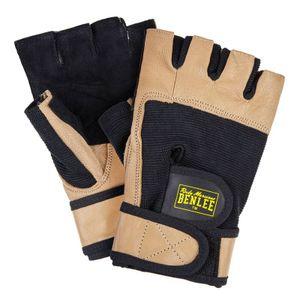 BENLEE Rocky Marciano Fitness-Handschuhe Unisex – Erwachsene Schwarz, Größe:XXL