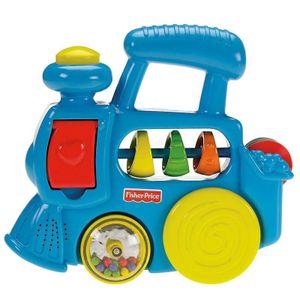 Mattel R7140 Fisher-Price Haus und Lok Sortiment -
