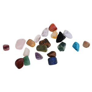 20pcs Natürliche Steine Edelsteine Set