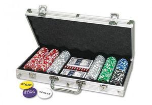 Pokerkoffer 300 Laser-Chips 11,5g, 1Stück