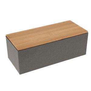 1 Stück Bambus Deckel Tee Caddy D . wie beschrieben Tee Aufbewahrungsbox